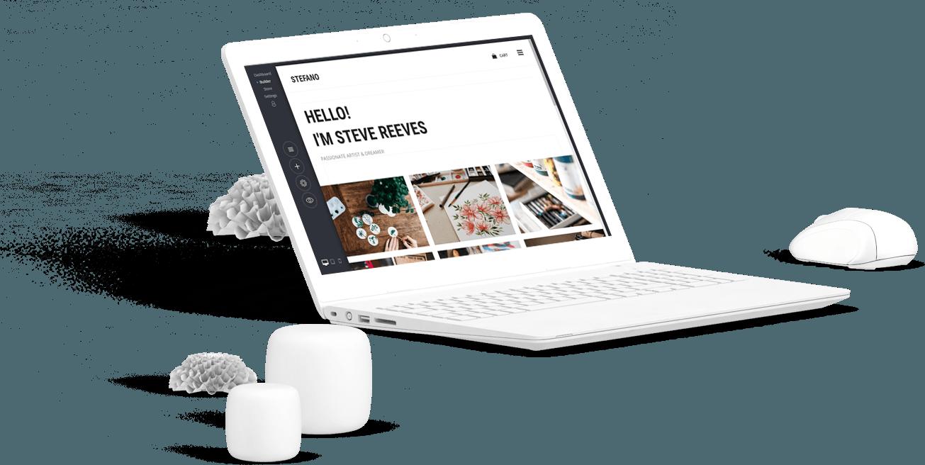 Construtor De Sites 1Design