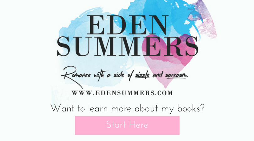 Eden Summers. Want to learn more about my books?