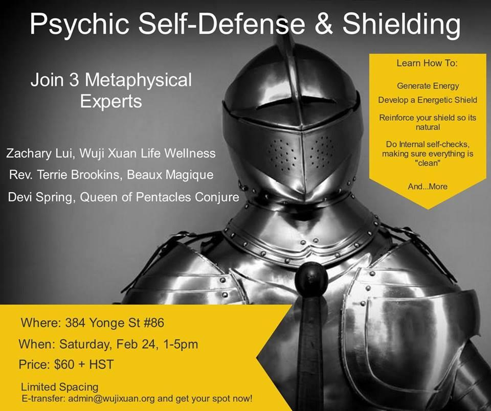Psychic Self-Defense & Shielding