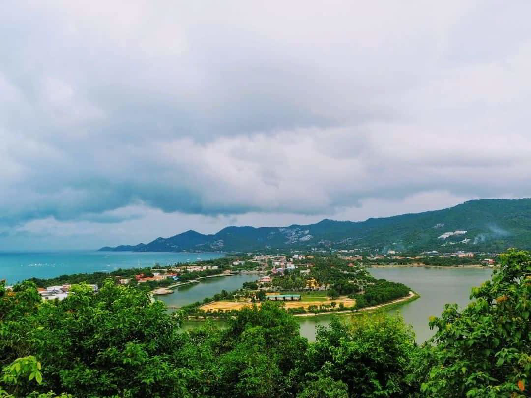PANORAMIC VIEW FROM WAT KHAO HUA JOOK