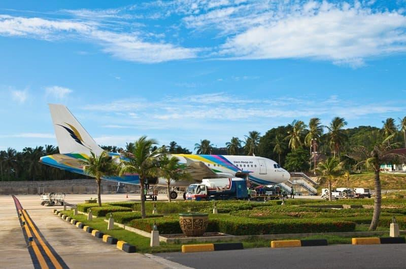 Flights to Koh Samui airport