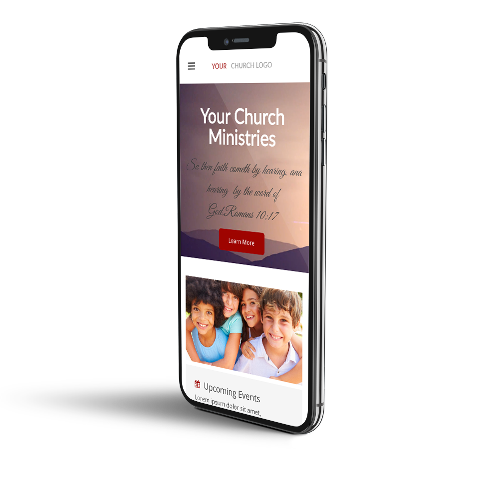 Church mobile website