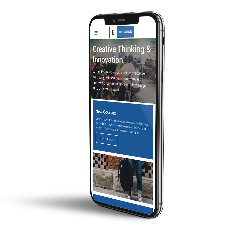 Dry Cleaning mobile template