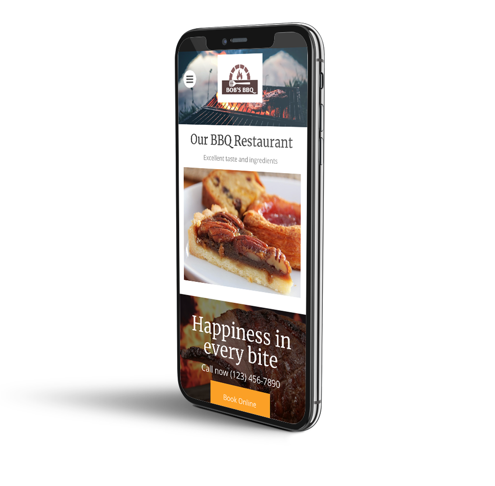 Restaurant mobile design