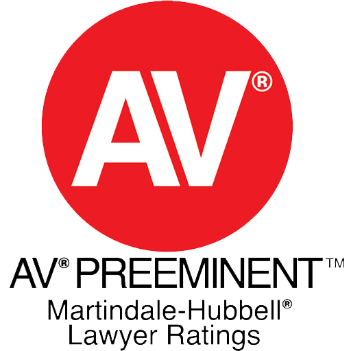 AV Rated Preeminent Martindale-Hubbell