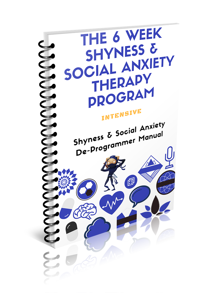 an image of the shyness social anxiety therapy program detailing how to overcome social anxiety and shyness
