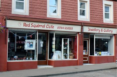 The Red Squirrel Cafe
