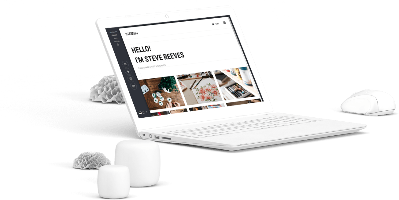 VeeSite website builder