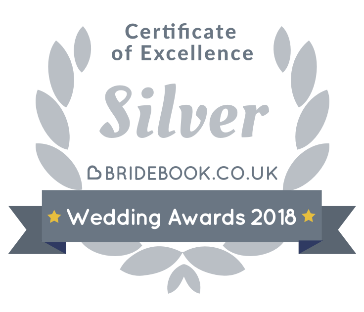 Bluebirds Bakehouse Wedding Cakes - Bridebook Silver Award