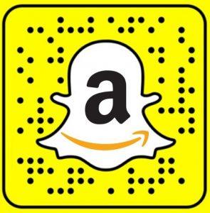 snapchat amazon logo