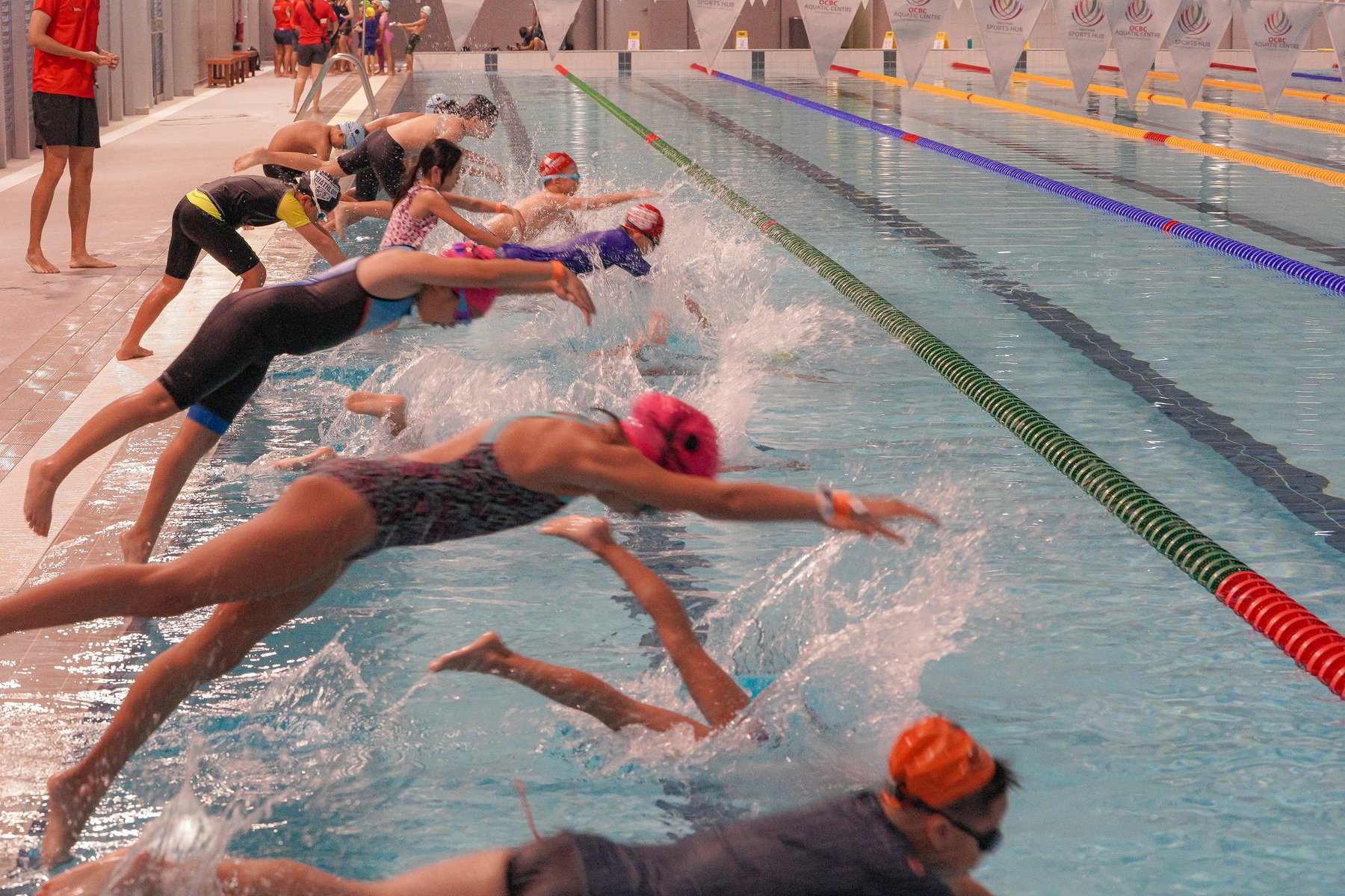 Private Swimming Lesson for children - Kids Aquathlon Clinic by Sports Singapore