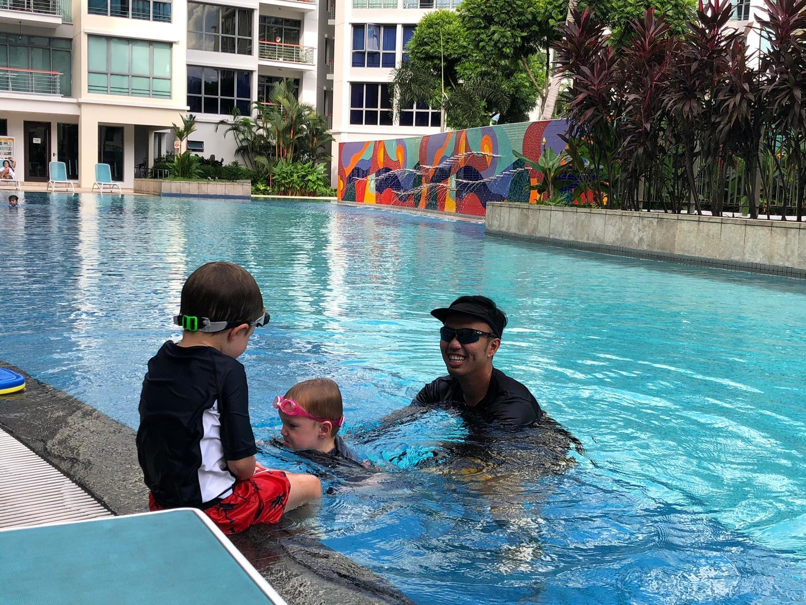 Private Swimming Lesson with coach Ray - Toddler Learn to Swim