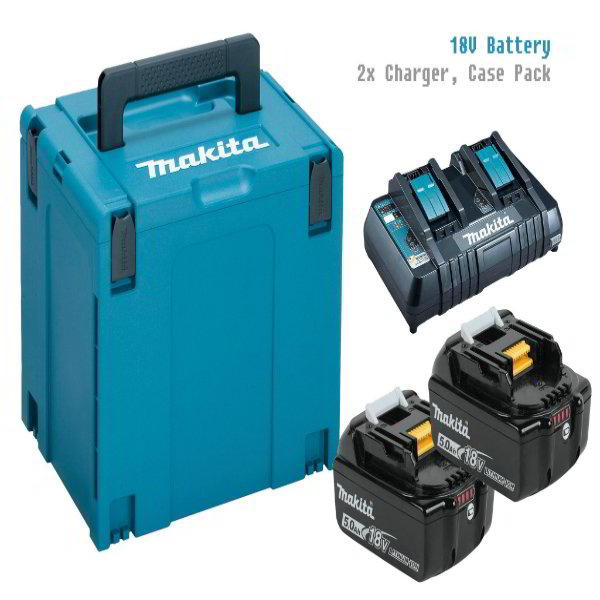 Makita MKP4PT1831 18V LXT Power Source Kit (CASE,BATTERY,CHARGER)