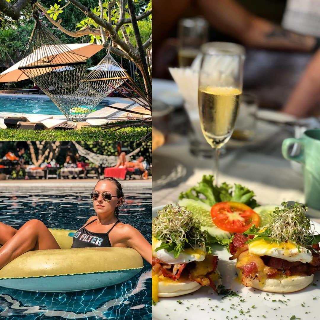 lets hyde hotel and resort with villas champagne breakfast in pattaya