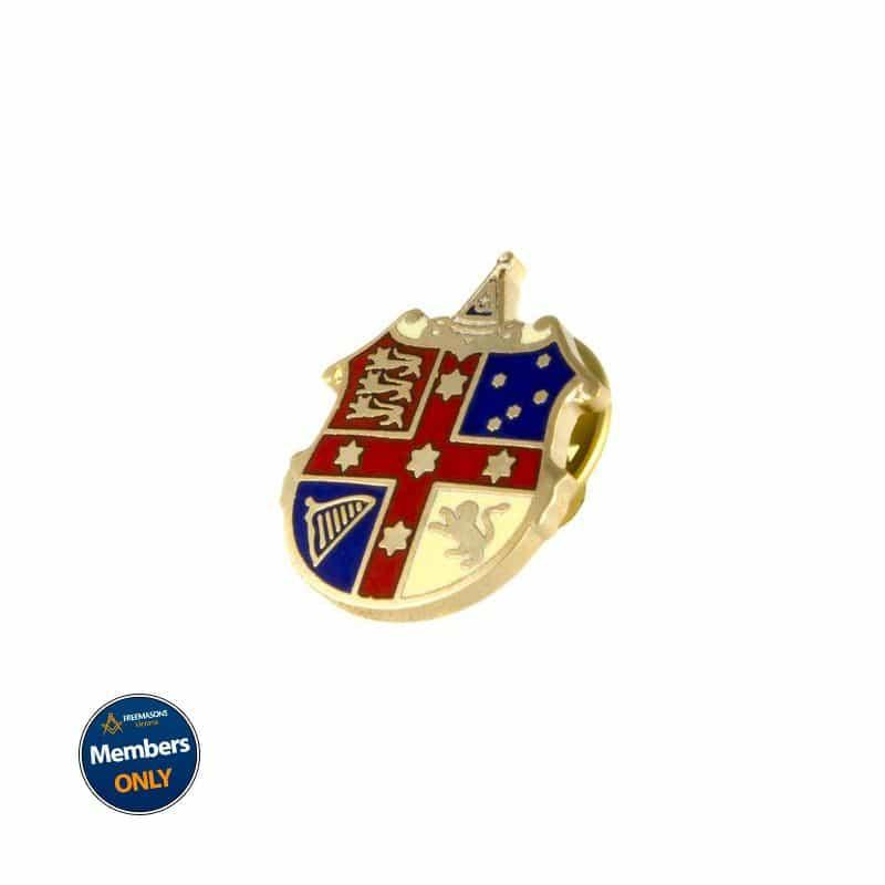 Lapel Pin: Grand Lodge Crest (GLA)