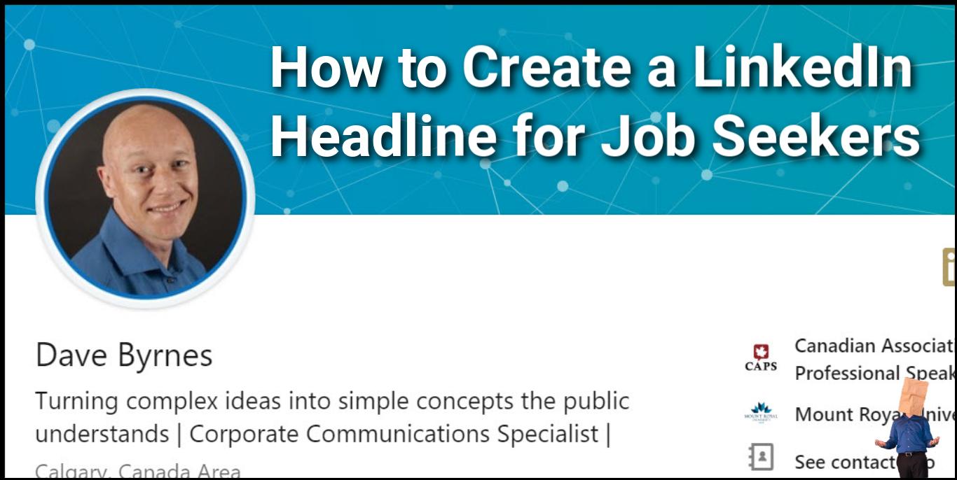 how to create a linkedin headline for job seekers