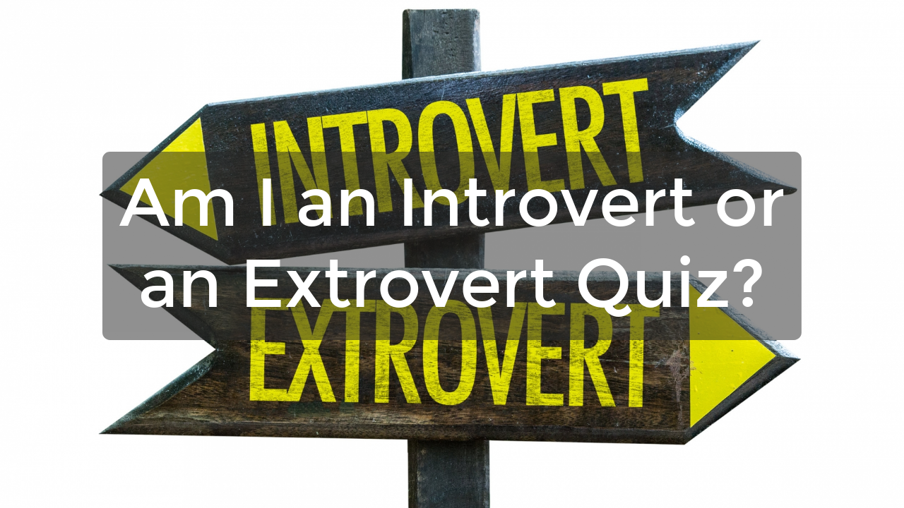 Am I an Introvert or an Extrovert Quiz