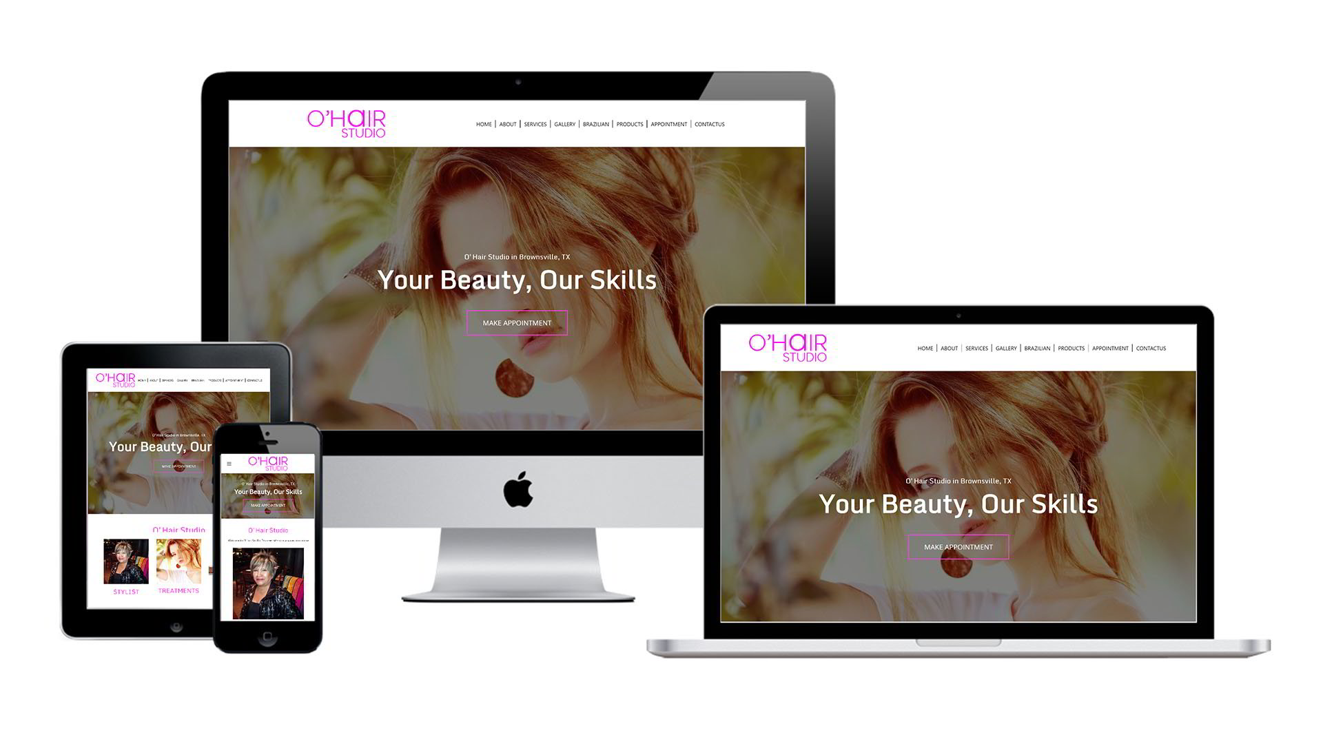 O'Hair Studio Website