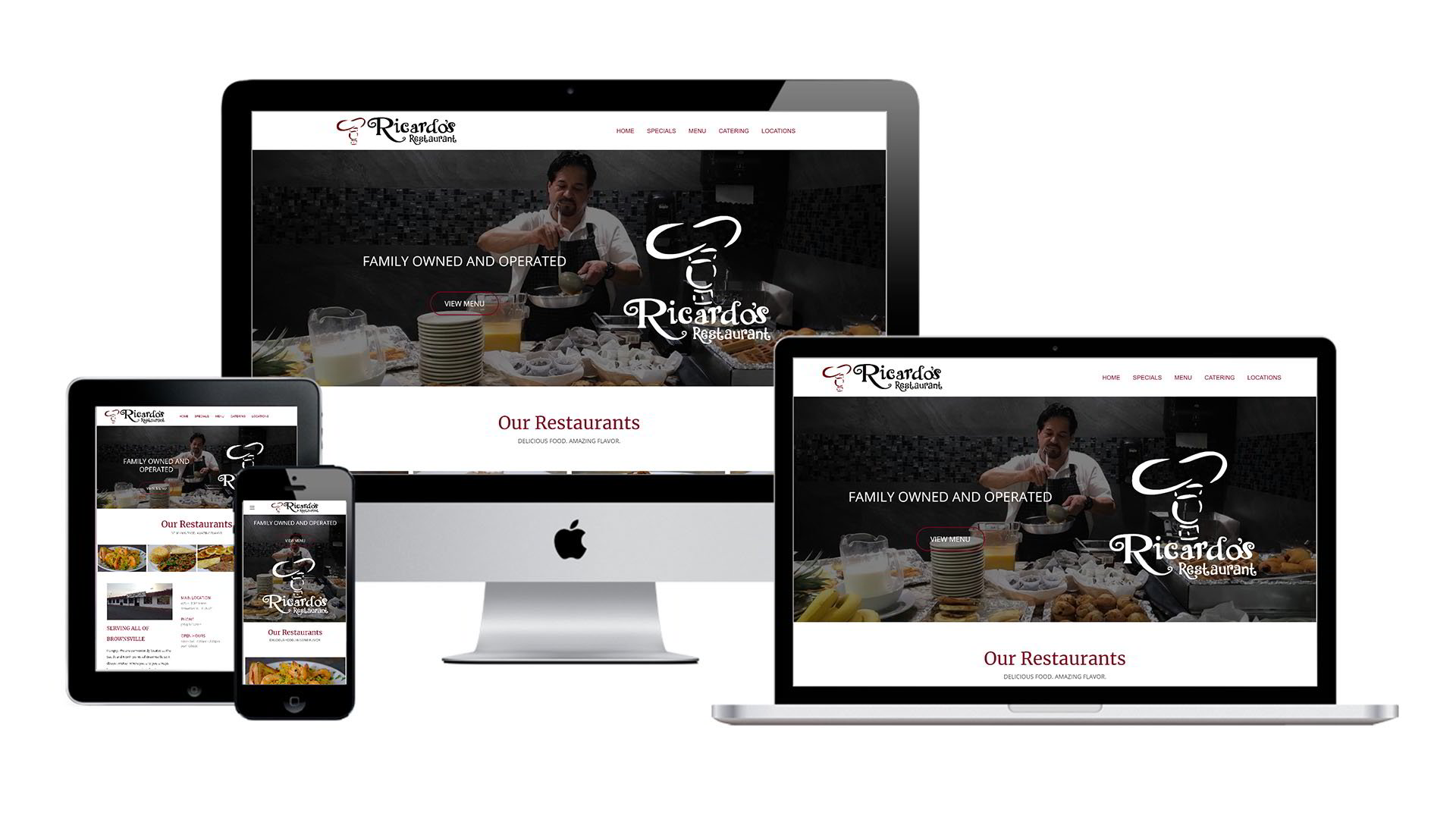 Ricardo's Restaurant Website