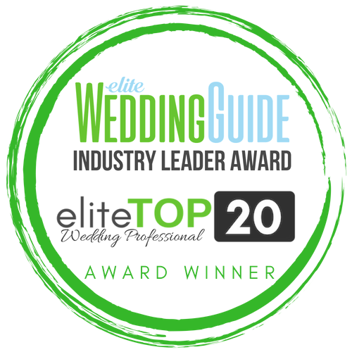 Elite Wedding Guide top 20 industry leader award
