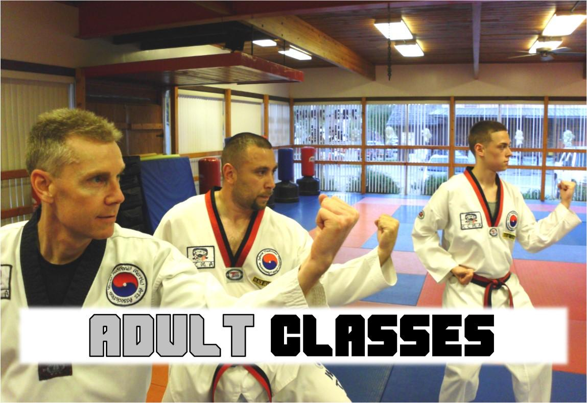Classes Available at Kim's College of Martial Arts