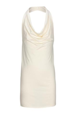 Girls Cream cowl neck apron by Pinniesfromheaven