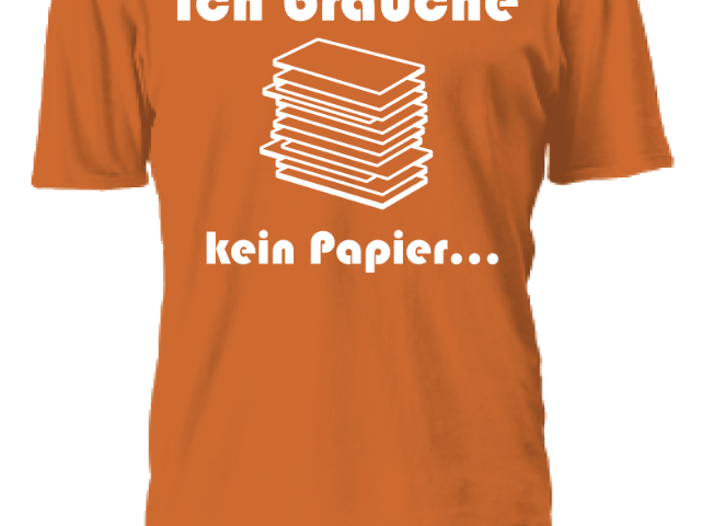 Paperless FanShirt