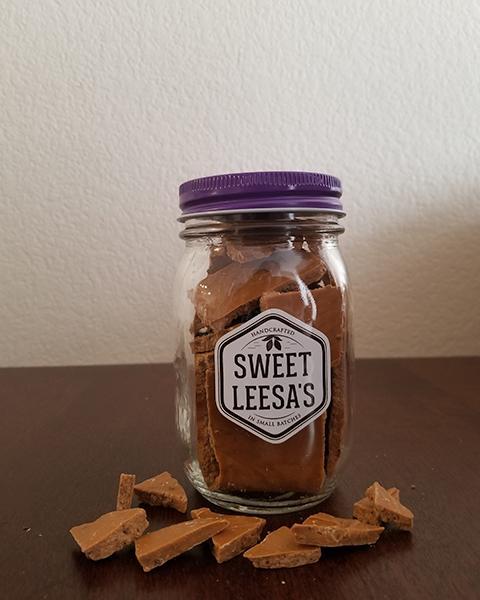 Caramel Latte Coffee Bean Flavor: Salted Caramel Chocolate W/ Freshly Ground Espresso Beans