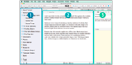 Scrivener User Interface