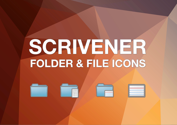 Quick Guide to Scrivener Icons