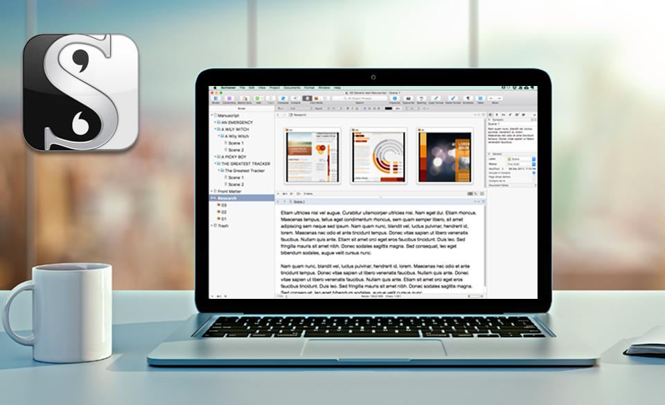 Scrivener 2 for Windows and Mac