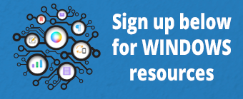 Sign up for Windows resources