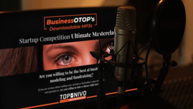 Startup Competition Ultimate Masterclass (Downloadable MP3s)