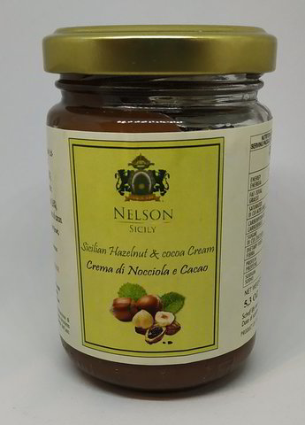 Hazelnut and Chocolate Sweet Spread 150gr - Gluten free and vegan