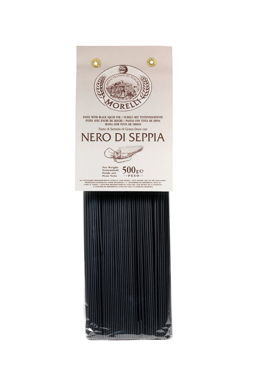 Squid Ink Spaghetti 500gr