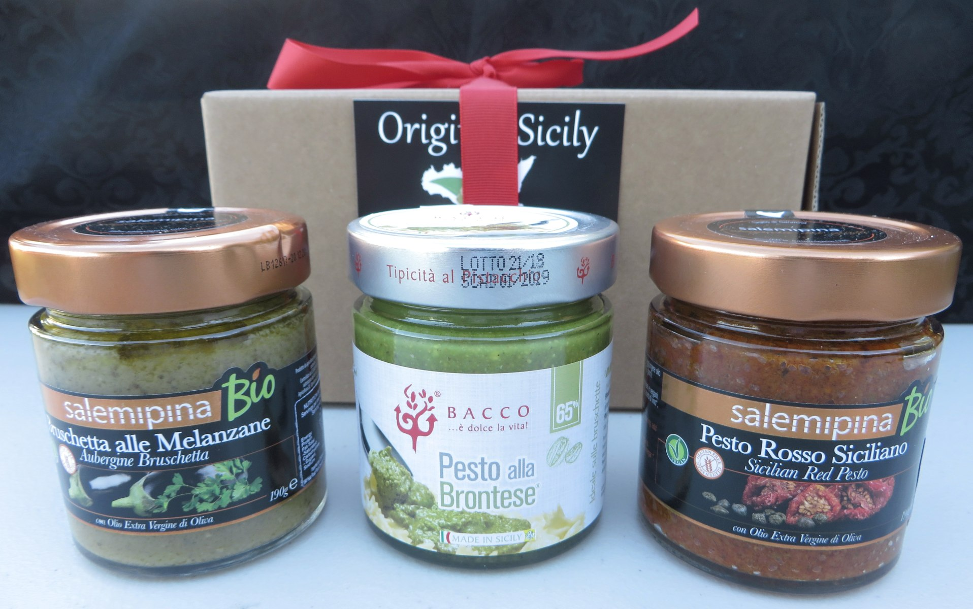 Trio of Sicilian Pesto