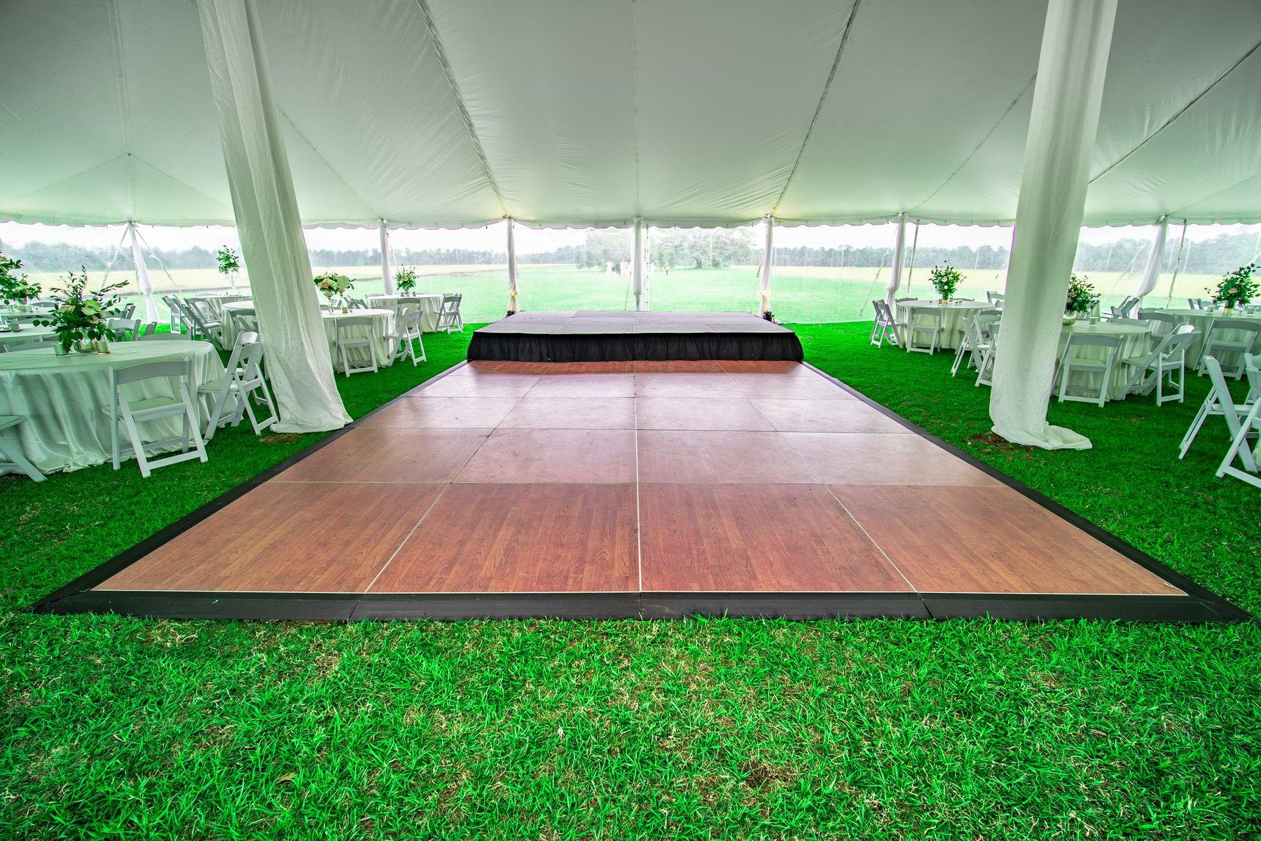 Stage Amp Dance Floor Rental Valdosta Special Occasions