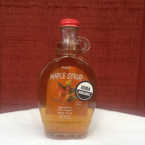 Maple Syrup 8oz glass