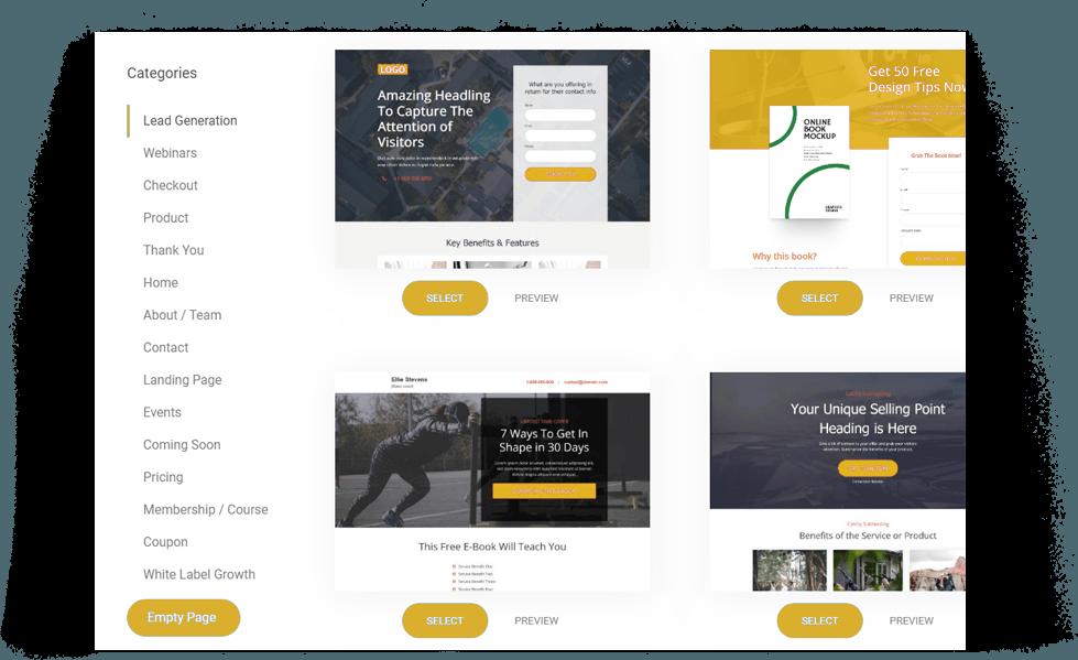 Fastozo - A professional website builder