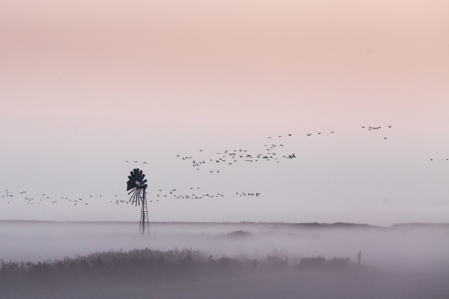 """First Light - North Norfolk"" - Multiple Print Options"