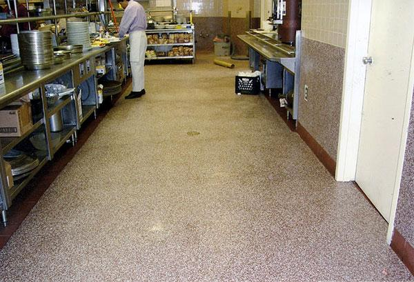 Commercial Waterproof Flooring