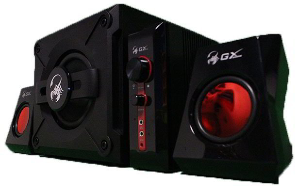 GX 4-Piece Gaming Speaker System