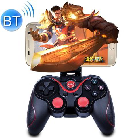 C8 Bluetooth Gaming Controller Grip Game Pad For Android / iOS / PC / PS3