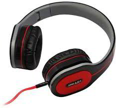 DM-2560 Wired Headphones (Black)