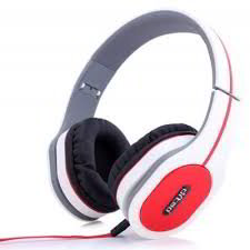 DM-2560 Wired Headphones (White)