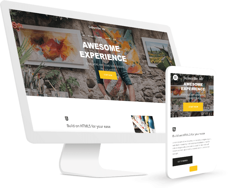Website wizard responsive website in seconds