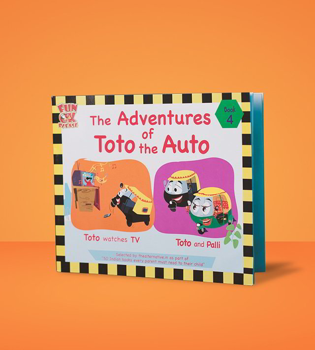 Adventures of Toto the Auto (Set of 4)