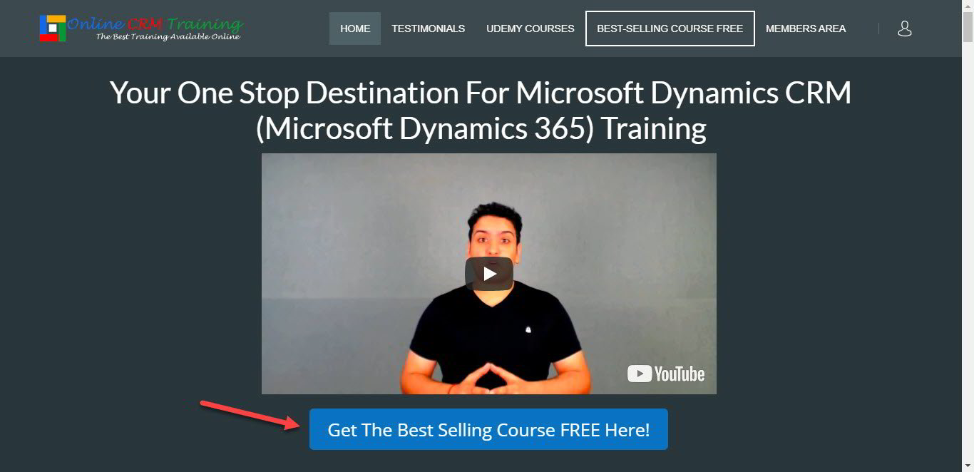 Free Microsoft Dynamics 365 Online Training Best Selling Course