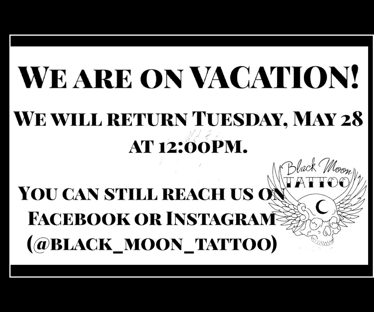 on vacation message