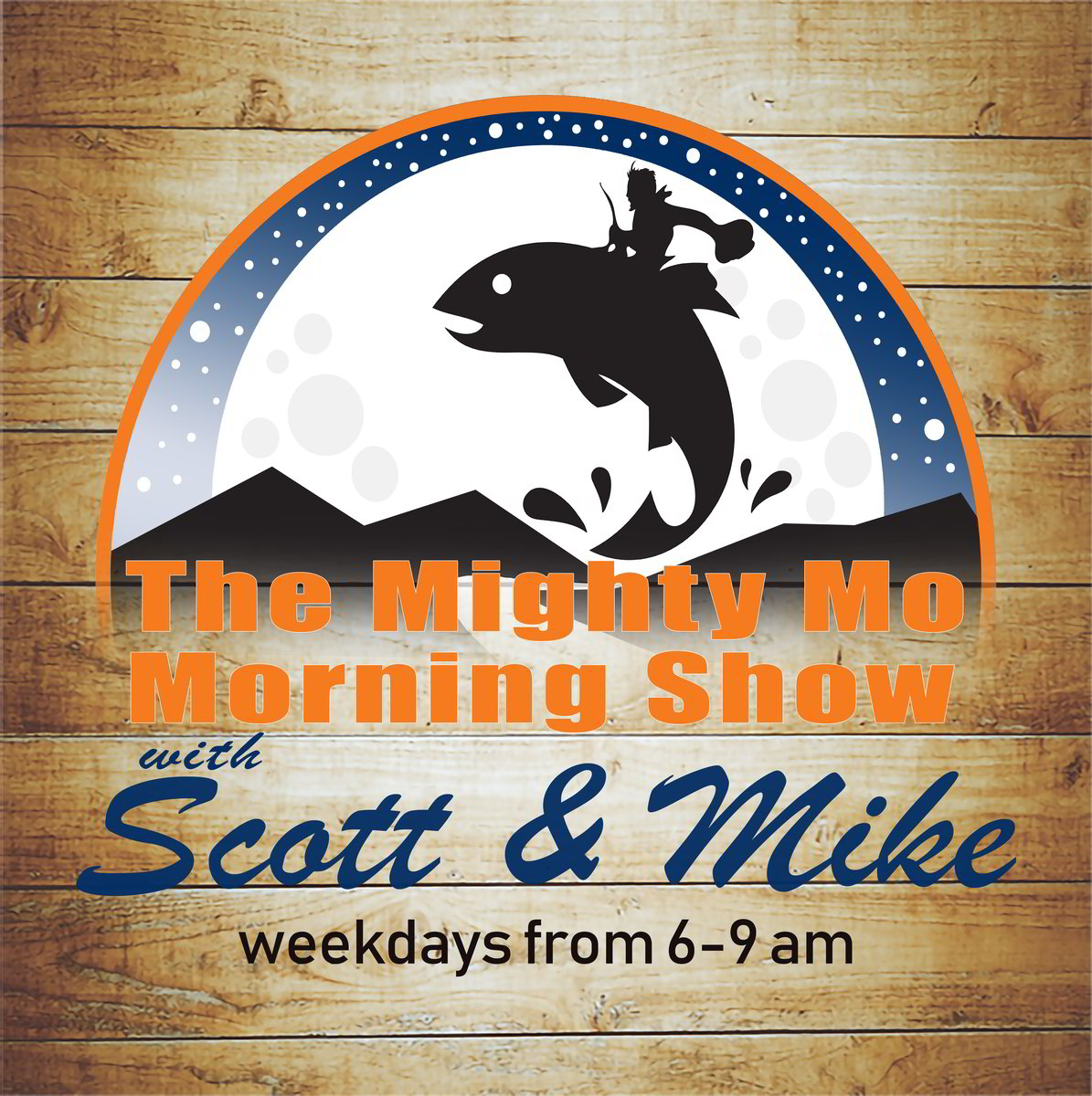 The Mighty Mo Morning Show Logo